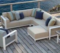 Cast Aluminum Patio Furniture  Homecrest Grace Modular ...
