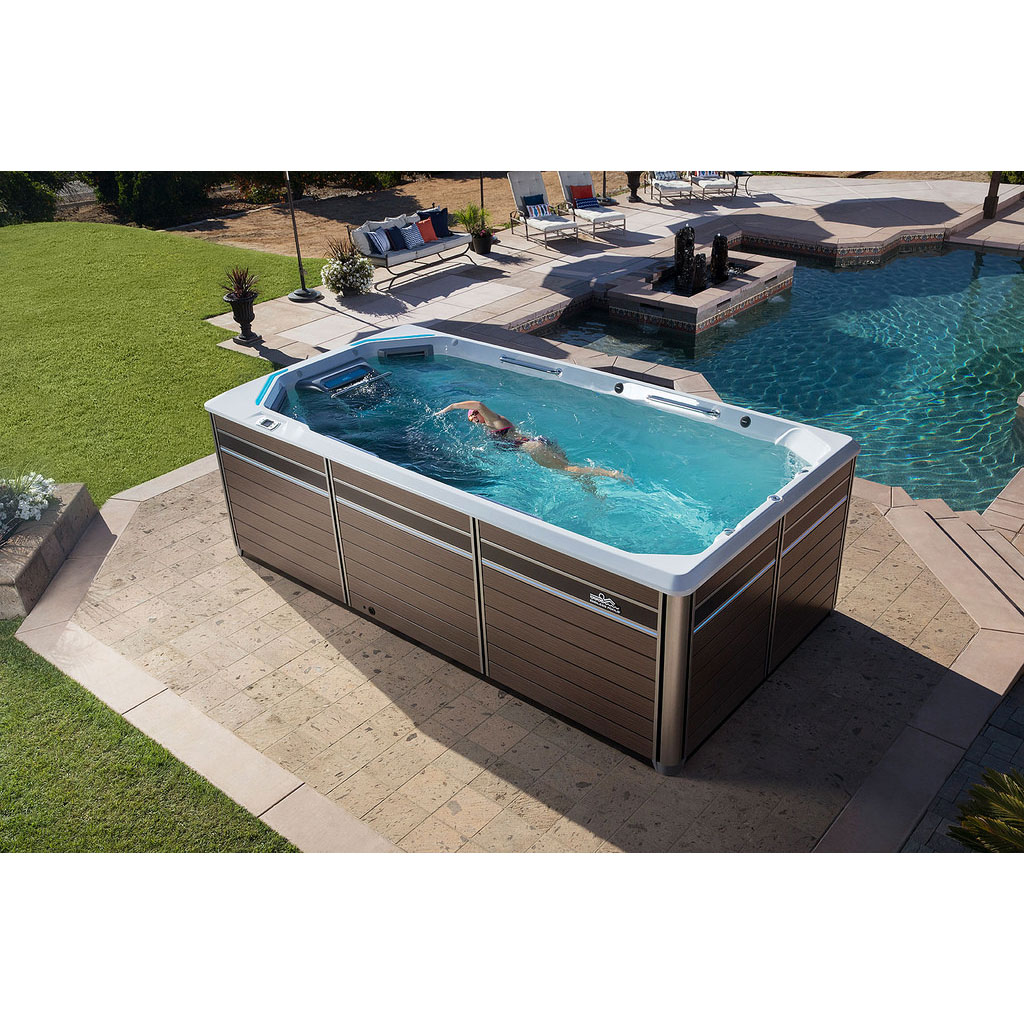 Jacuzzi Endless Pool Endless Pools E550 Fitness System Hotspring Fantasy Hot