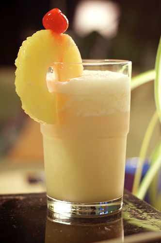 If you like pina coladas...