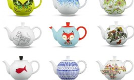Crate and Barrel 50th Anniversary Teapots