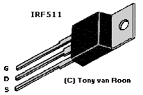 irf511 data sheet electronics tmos power fet