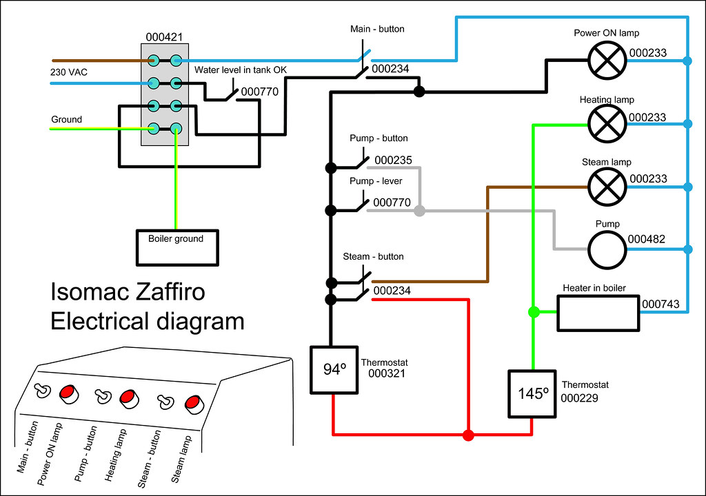 refrigerator electrical schematic