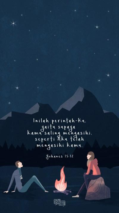 Lock Screen: Yohanes 15:12