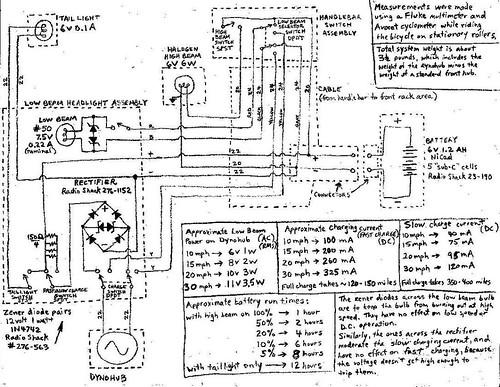 bicycle flashlight wiring diagram