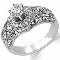 White Gold Engagement Setting Without Stone | White Gold