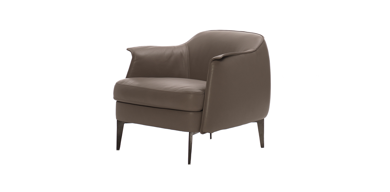 Sofas World Contact Cierre - Bohème Fixed Armchair - Designer Italian