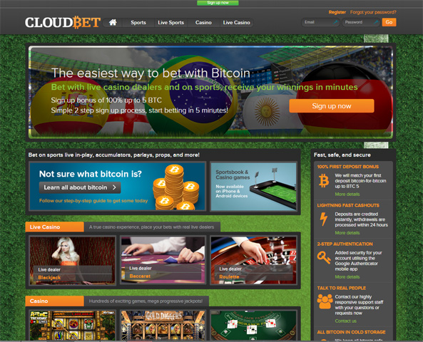 cloudbet-homepage