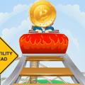 Bitcoin price roller coaster