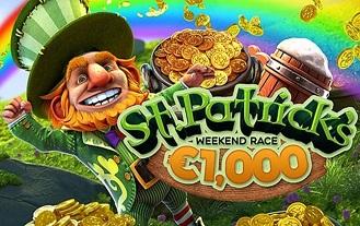 St. Patrick's Day €1,000 Lucky Race At Bitstarz