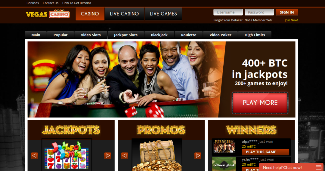 Vegascasino Screenshot