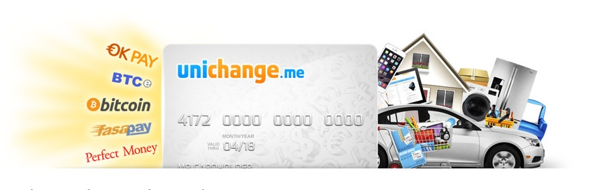 Bitcoin Exchange Unichange.me Offers Virtual and Plastic Bitcoin Debit Cards and Much More