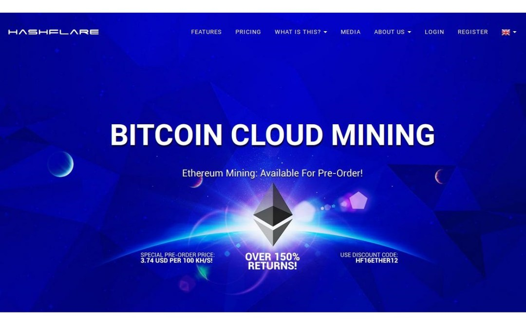 Ethereum Cloud Mining and Bitcoin Cloud Mining With Lifetime Contracts and Proof of Mining Offered by HashFlare