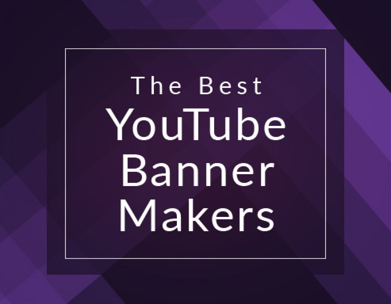 Arte Do Youtube The Best Youtube Banner Makers For Next Level Channel Art Biteable
