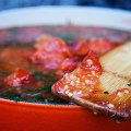 Roasted Field Tomato and Italian Parsley Soup B
