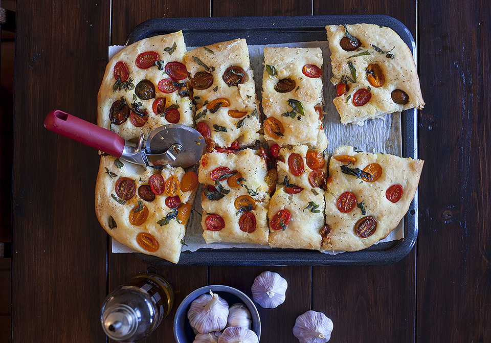the secret to making authentic focaccia