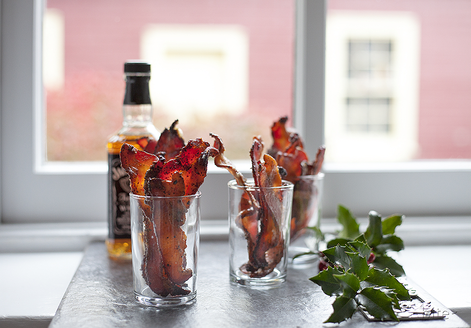 whiskey spiked maple bacon – hottest shot in town!