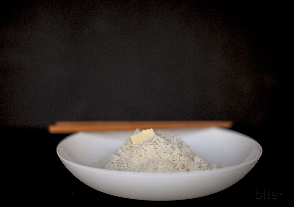 perfect steamed rice - every time - bite