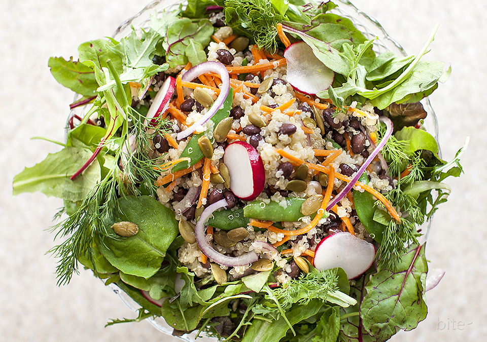 carrot quinoa salad – mother's day