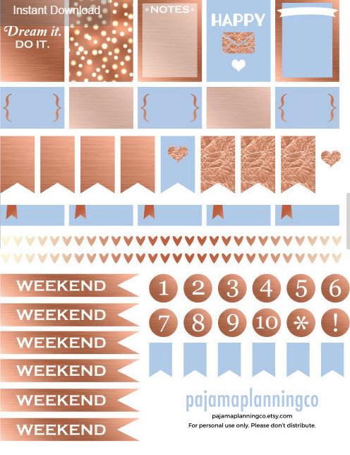 The Best Etsy Shops for Planner Junkies \u2013 Stickers \u2013 Part I