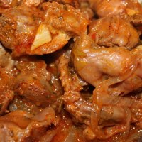 Braised chicken gizzards recipe
