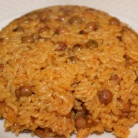 Moro de guandules rice cooker recipe (pigeon pea rice)