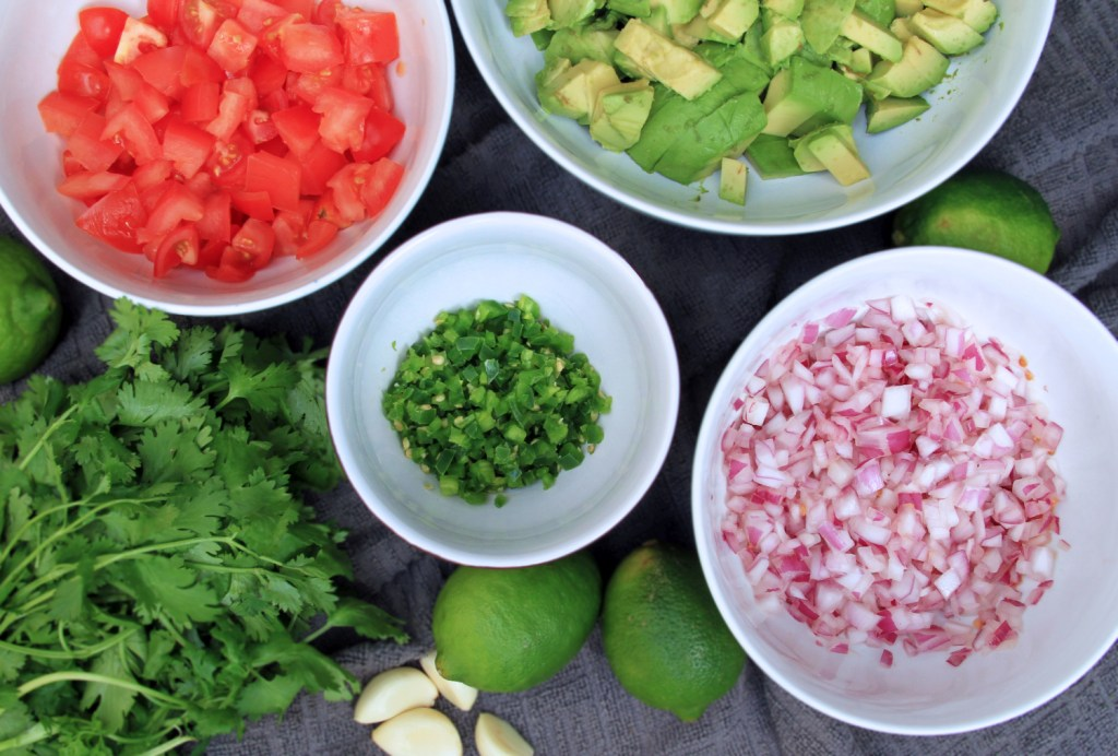 Guacamole Ingredients | Bites of Life