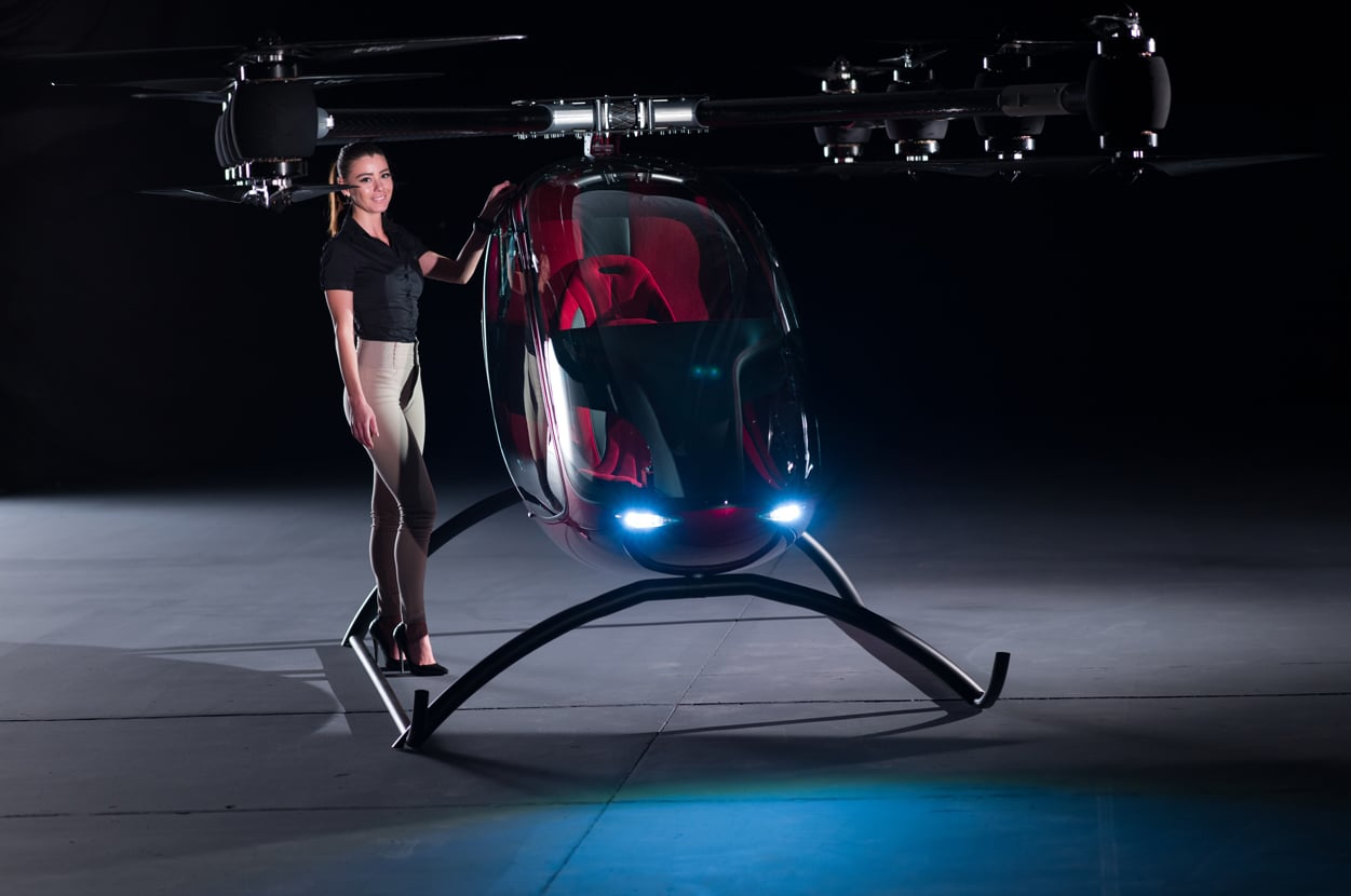 Safety Autonomous Car Passenger Drone – The New Way To Commute Through The Skies
