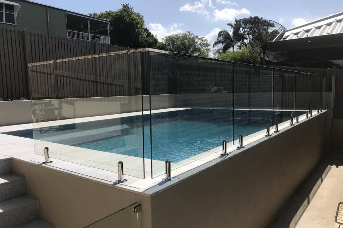 Glaspool How To Install Glass Pool Fencing Bit Rebels
