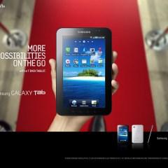 Anuncio publicitario de  Samsung Galaxy Tab que emociona