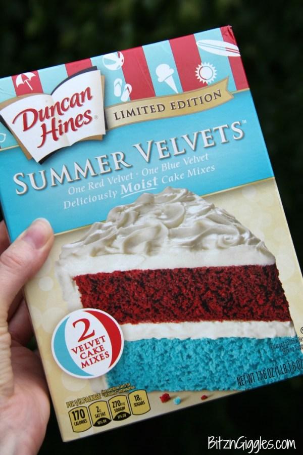 Summer Velvets Parfait - Bitz & Giggles