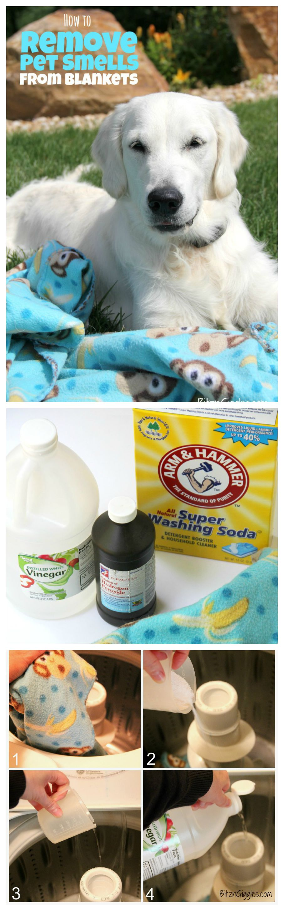 How To Get Urine Smell Out Of Clothes How To Remove Pet Smells From Blankets