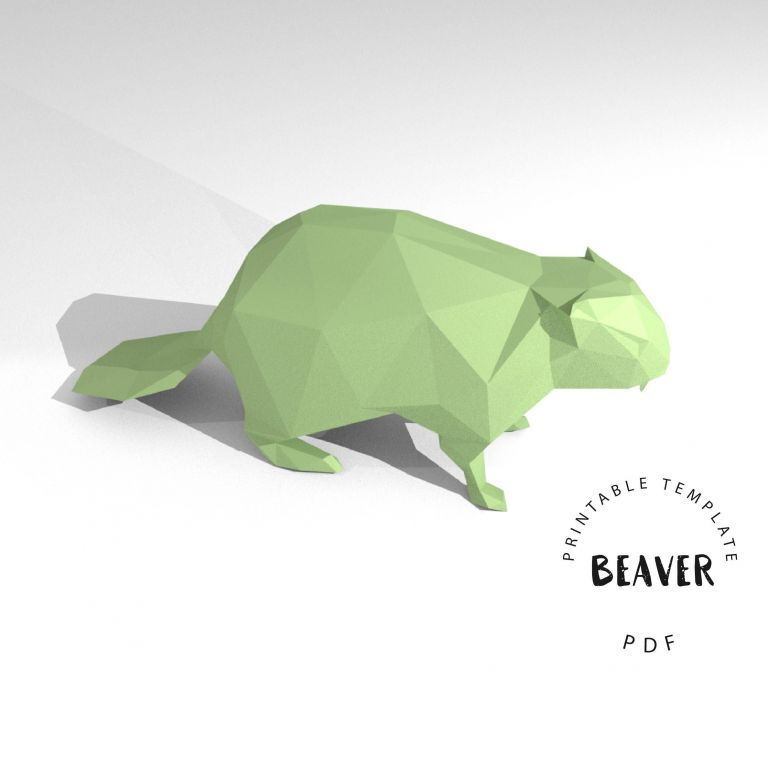 Printable Animal Papercraft - Printable Papercrafts - Printable