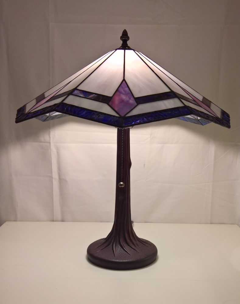 Lamp Glas In Lood Lamp Diamant