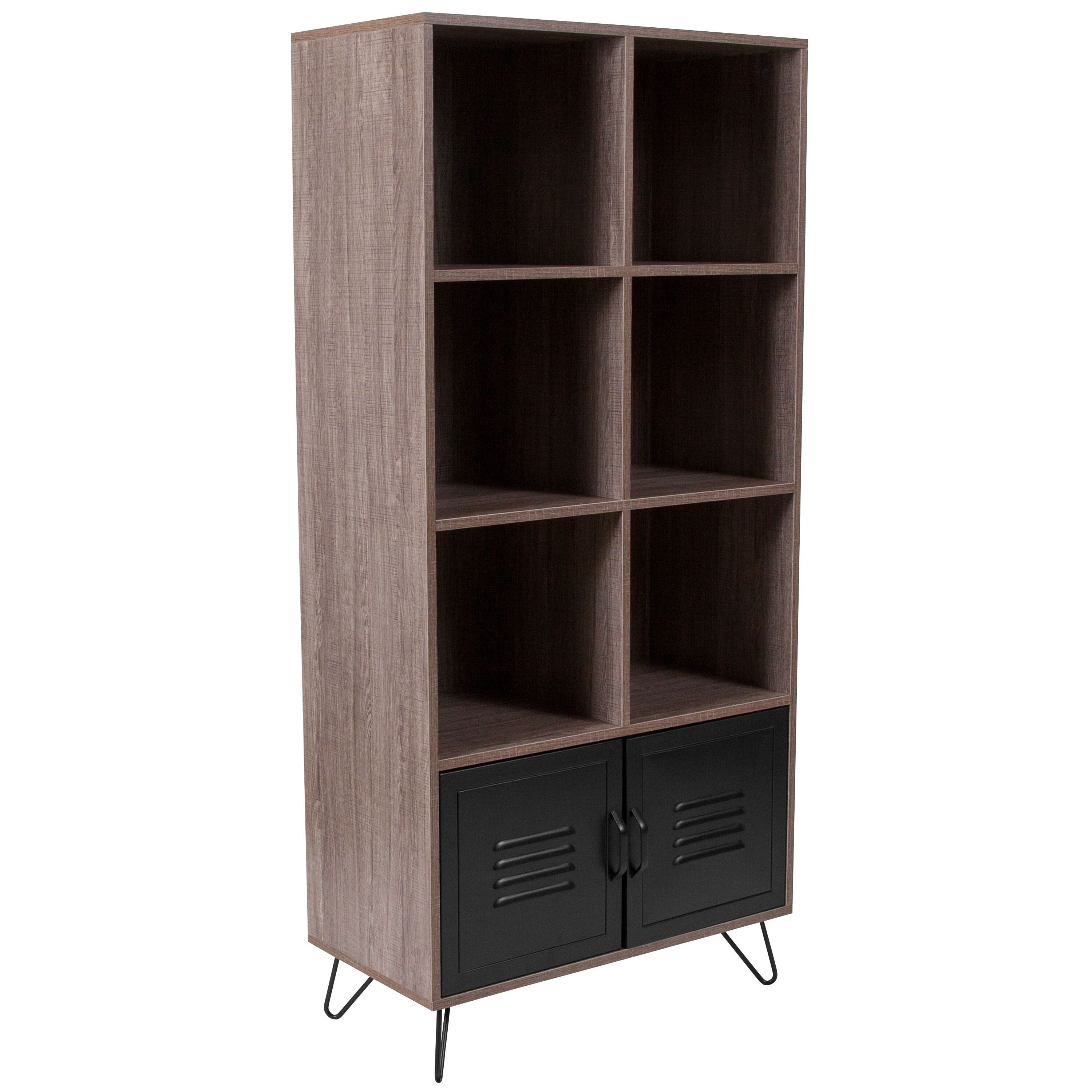 Bookcase Cabinet Woodridge Collection 59 25
