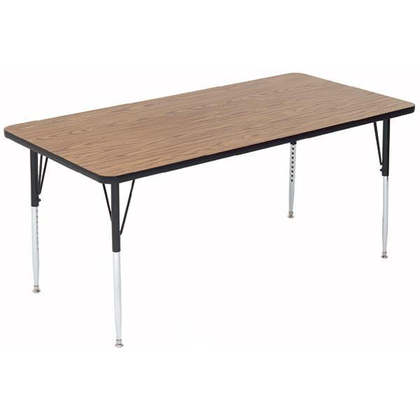 Adjustable Height Activity Table Rectangular Activity Table A2448 Rec Bizchair