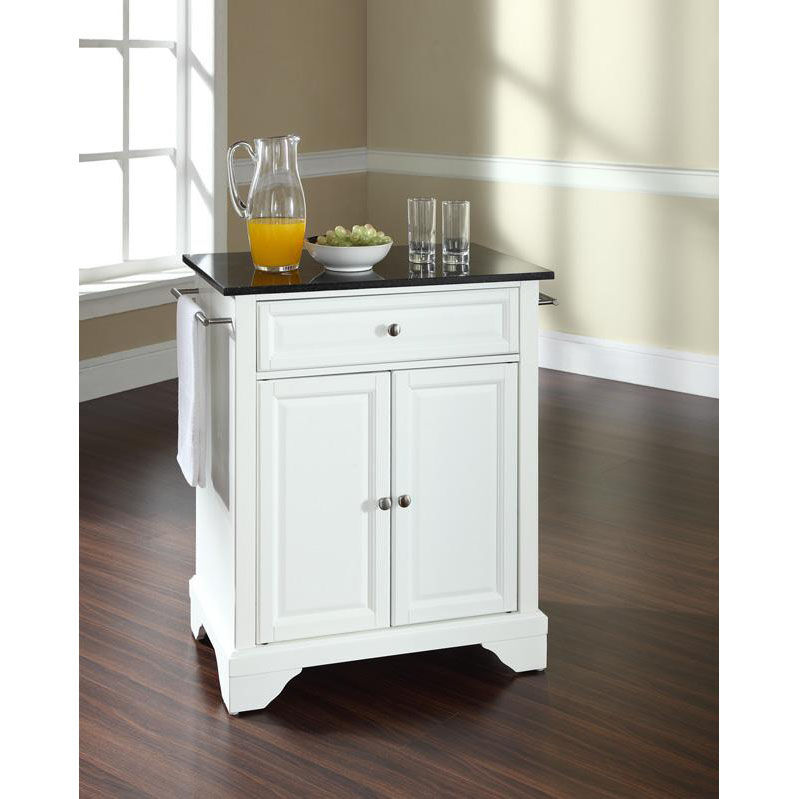 Portable Kitchen Island With Granite Top Our Solid Black Granite Top Portable Kitchen Island With