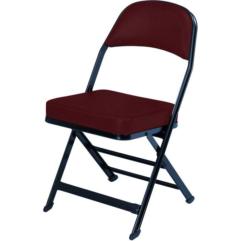 Chairs Folding 3000 Series Fabric Upholstered Seat And Back Folding Chair With B Back Style