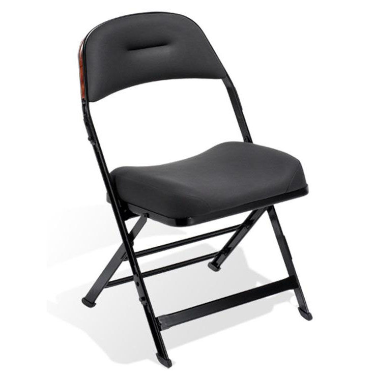 Chairs Folding Contour Series Upholstered Seat And Back Folding Chair