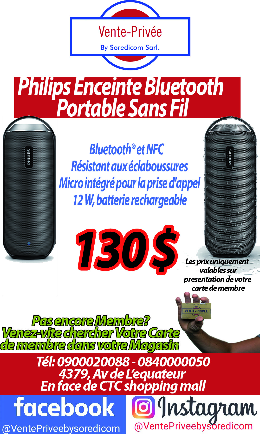 Disponible Chez Vente Privee Bizcongo