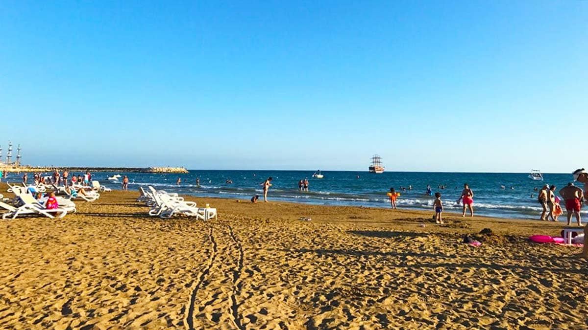 Kumköy Side Antalya Beaches Where To Swim In Antalya Biz Evde Yokuz