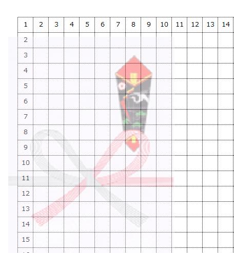 Excel_方眼紙_5