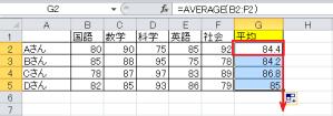 エクセル_平均_4