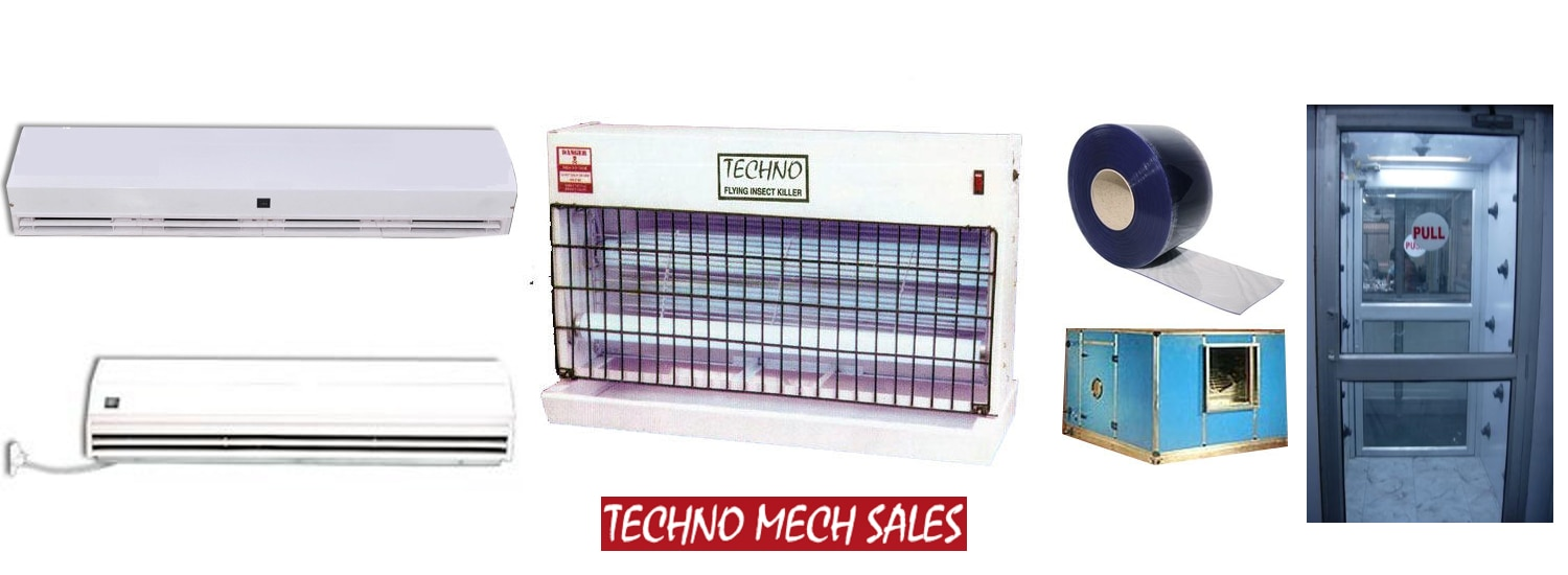 Air Curtain Shower Techno Mech Sales Flying Insect Killer Fly Killer Air Washer