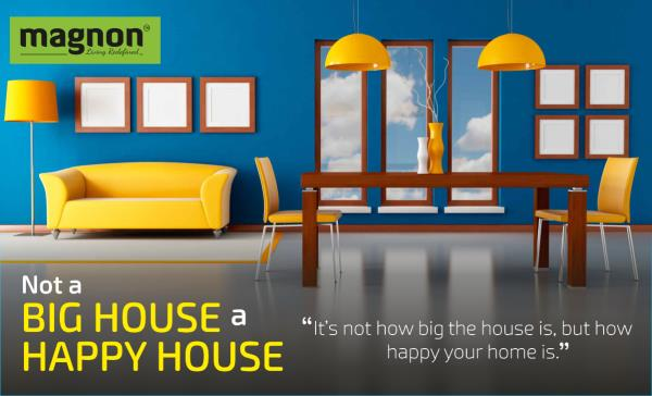 Not A Big House, A Happy House \u201d It\u0027s not how big the house is, but - House Advertisements