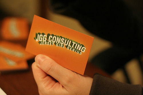 quality business card design