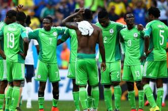 Super-Eagles-players after the loss to the Pharaoh Boys