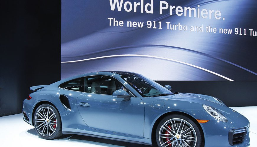 2017 Porche 911 Turbo automobiles