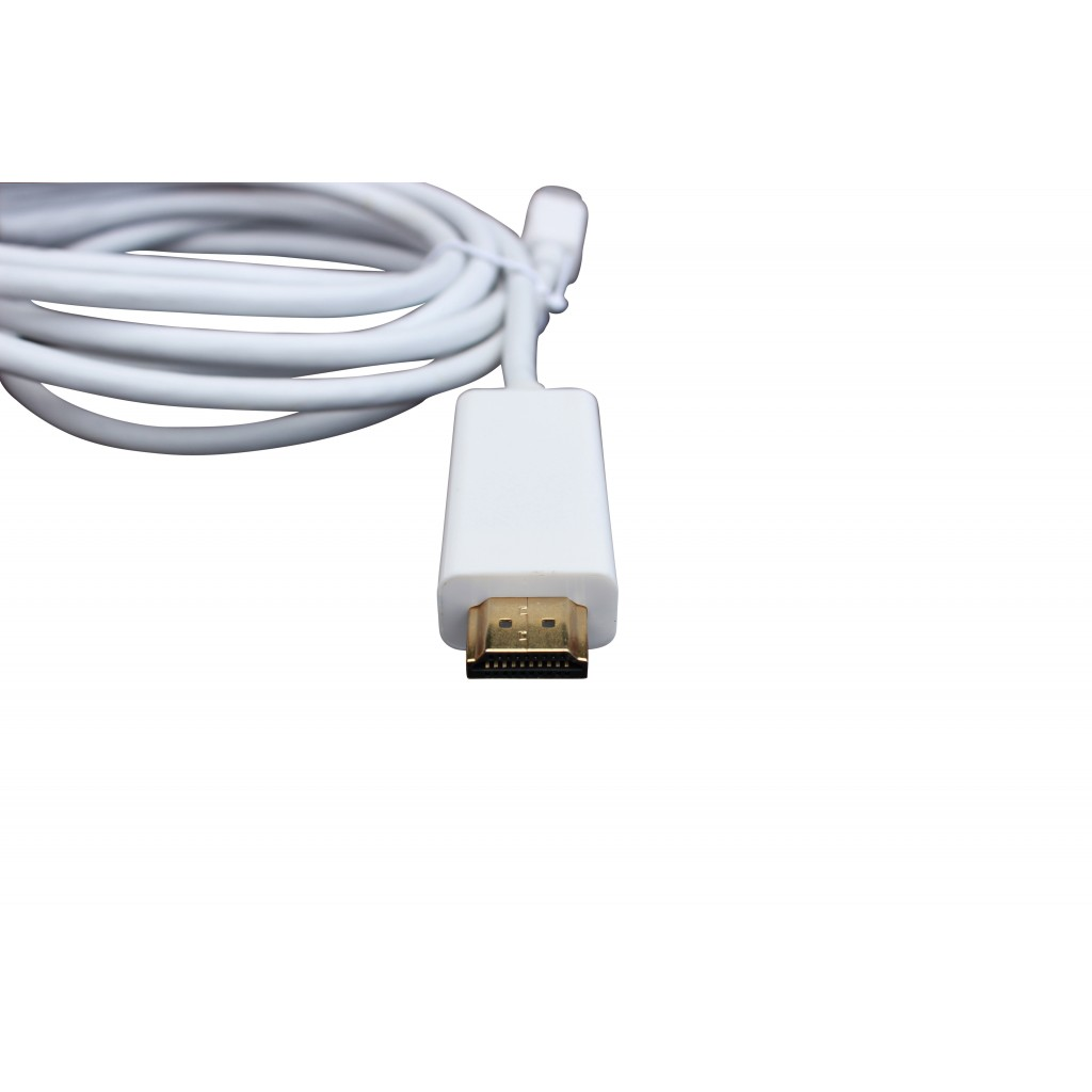 Televisie Kabel Kopen Mini Displayport And Thunderbolt Naar Hdmi Kabel Male Bizzix