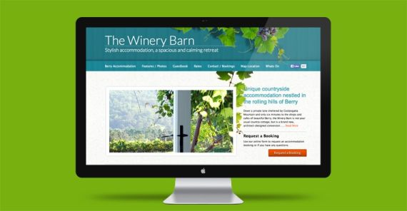 Berry website design