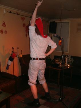 Bøflen danser i anledning af julen